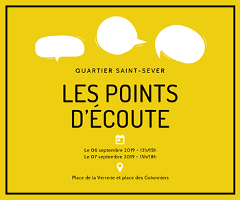 points d'écoute Saint-Sever